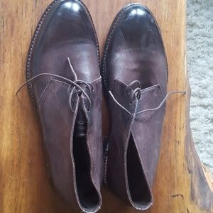 To Boot New York Brown Lace Up Boots Size 9
